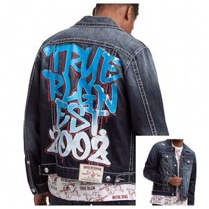 Men True Religion Jean Jacket